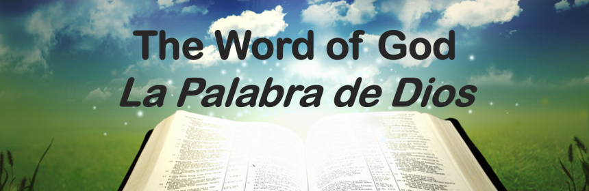 word of God palabra de dios